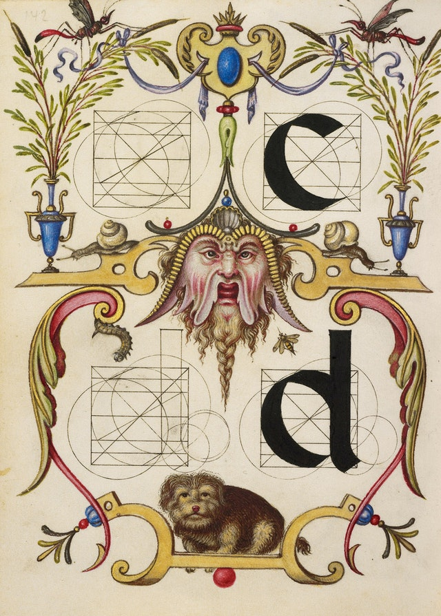 Guide for Constructing the Letters c and d