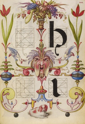 Guide for Constructing the Letters h and i