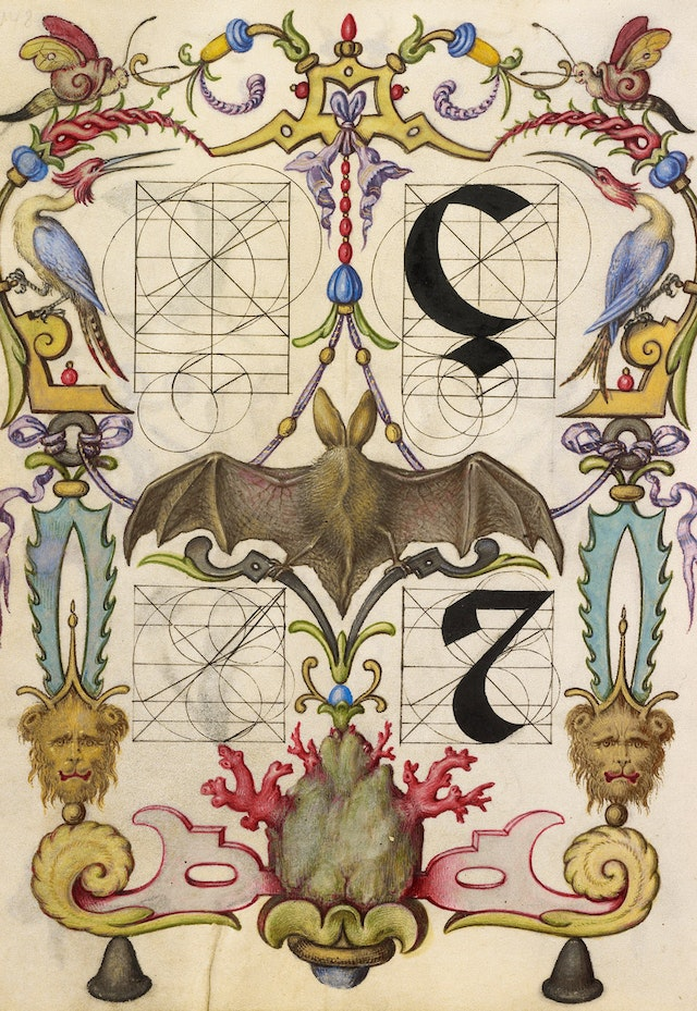 Guide for Constructing the Letters Ç and Tironian et