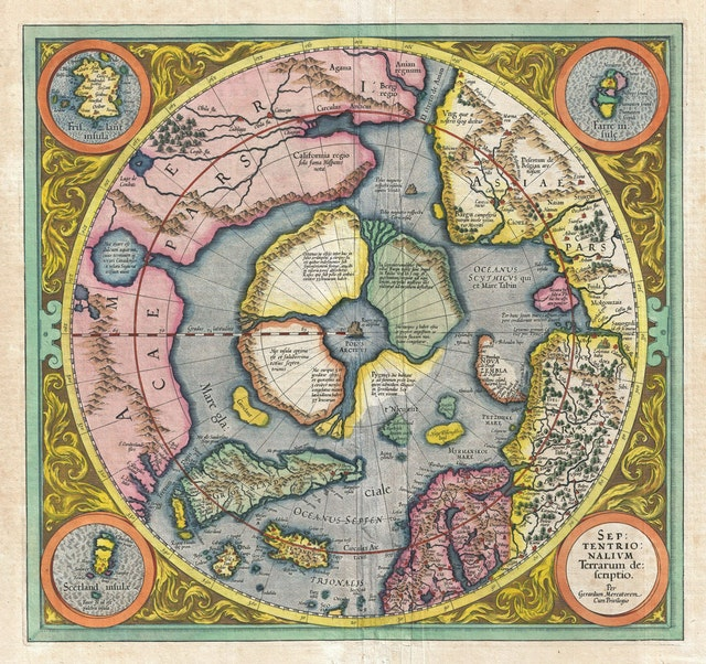 First Map of the North Pole