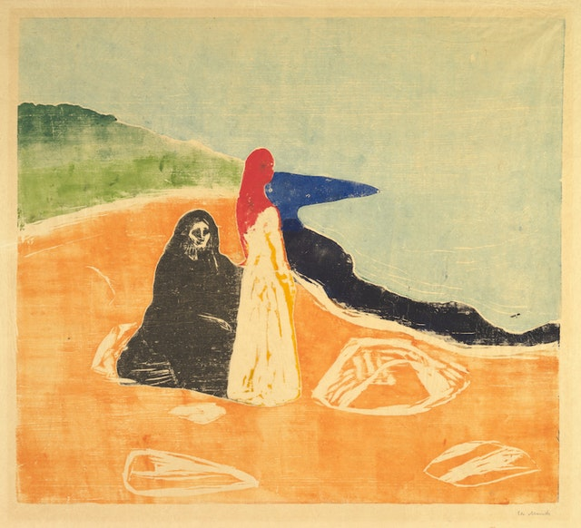 Two Women on the Shore (I)