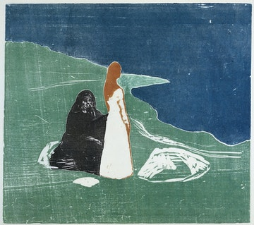 Two Women on the Shore (II)