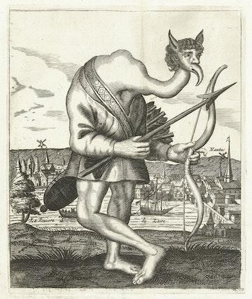 Malformed Man from Madagascar