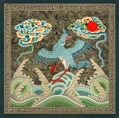 Chinese Bird Design