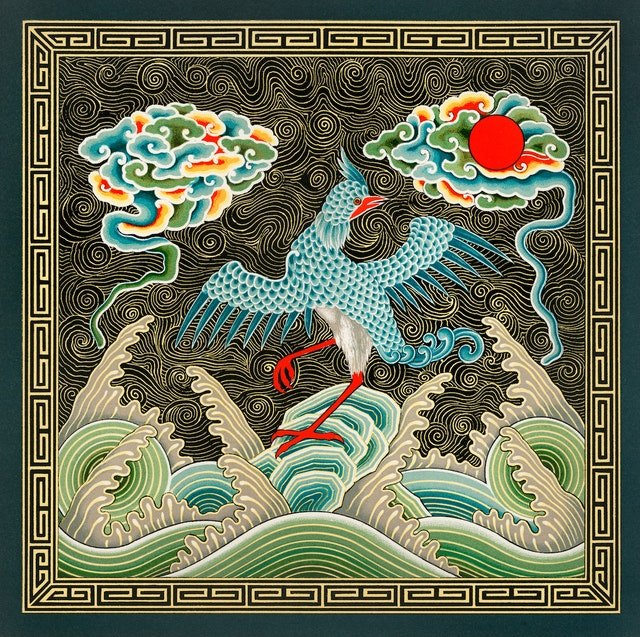 Chinese Bird Design