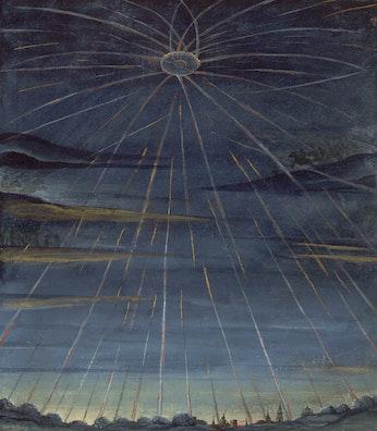 Comet Unknown (Starburst)