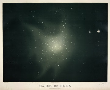 Star Cluster in Hercules