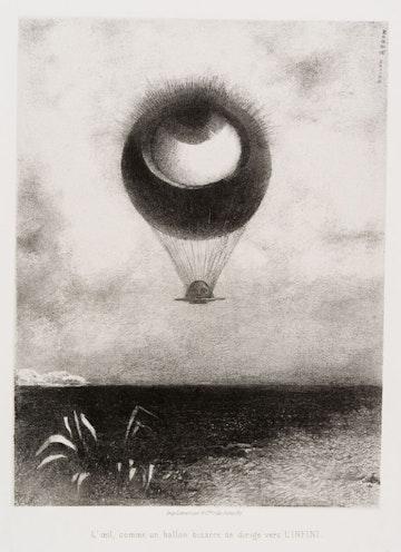 To Edgar Poe (The Eye, Like a Strange Balloon, Mounts toward Infinity)