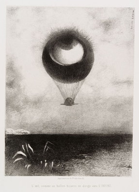 To Edgar Poe (The Eye, Like a Strange Balloon, Mounts toward Infinity)
