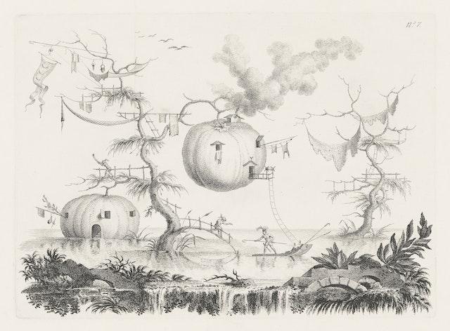 Lunar Vision: Pumpkins used as Dwellings