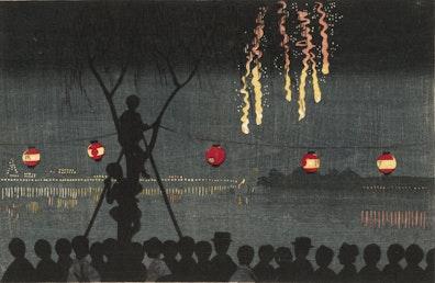 Fireworks at Ikenohata