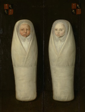 Swaddled Twins