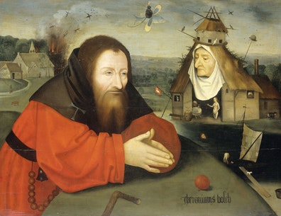 The Temptation of St Anthony (in the manner of Bosch)