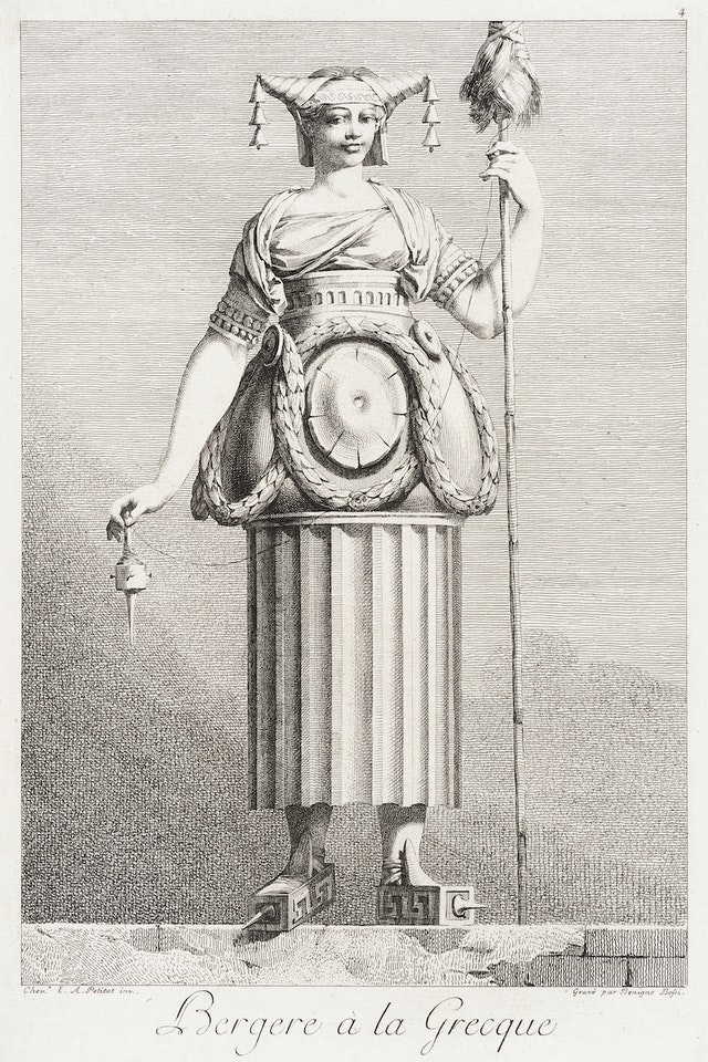 Sheperdess in the Greek Style