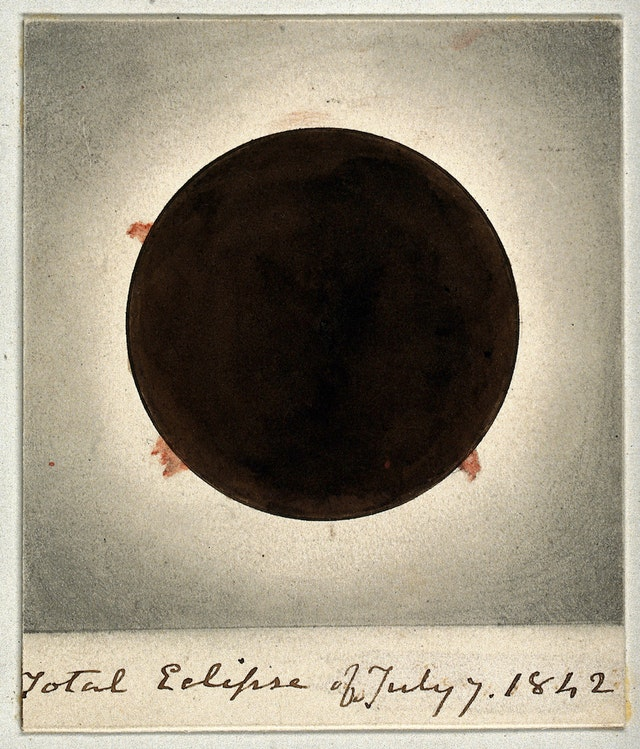 Total Eclipse of July 7 1842