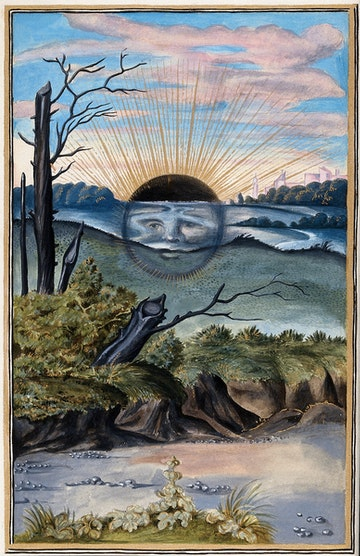 Dark Sun, from Splendor Solis
