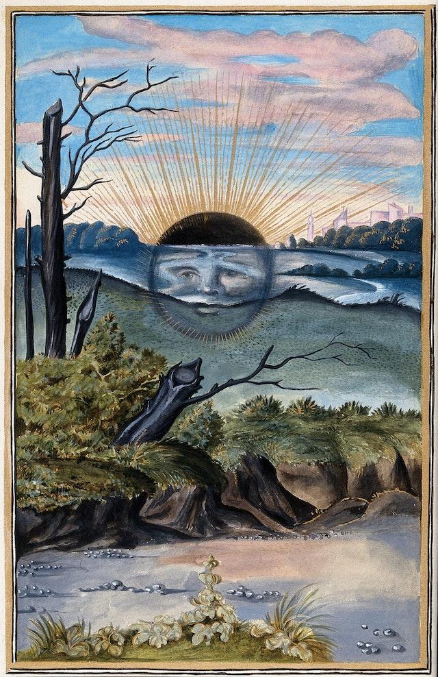 Dark Sun, from Splendor Solis