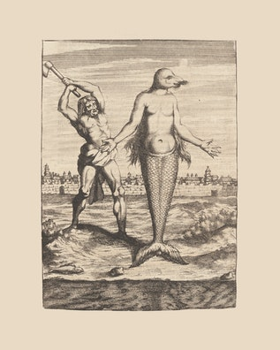 Man Attacking Merman