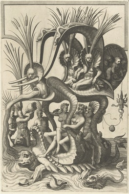 Grotesque Ornament Print: II
