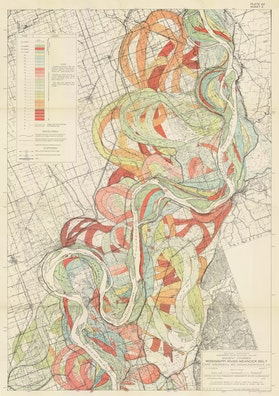 Ancient Courses: Mississippi River Meander Belt, Plate 22 sheet 2