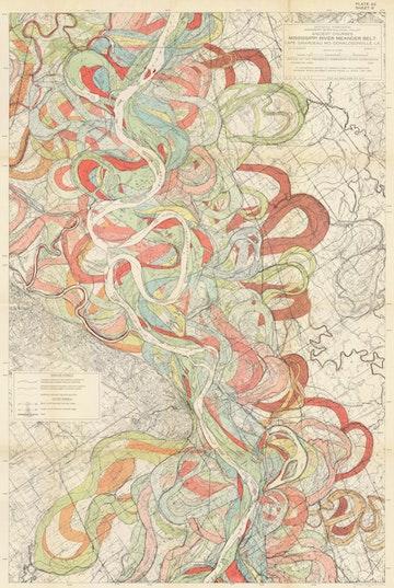 Ancient Courses: Mississippi River Meander Belt, Plate 22 sheet 6