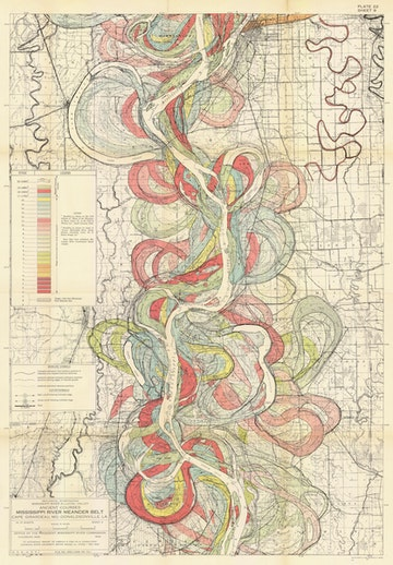 Ancient Courses: Mississippi River Meander Belt, Plate 22 sheet 9